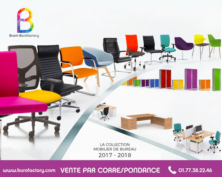 Bram burofactory marketplace du mobilier de bureau for Catalogue buro reunion